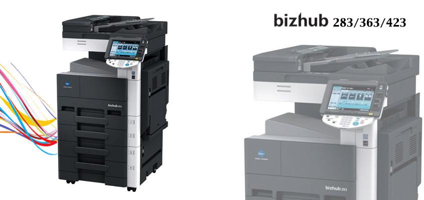 bizhub 283/363/423