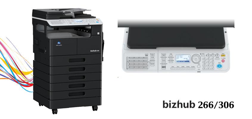 bizhub 266/306