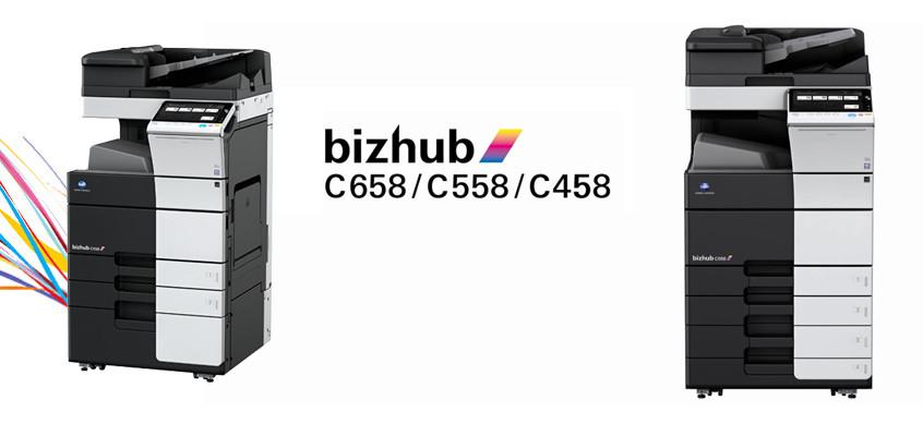 bizhub C458/C558/C658