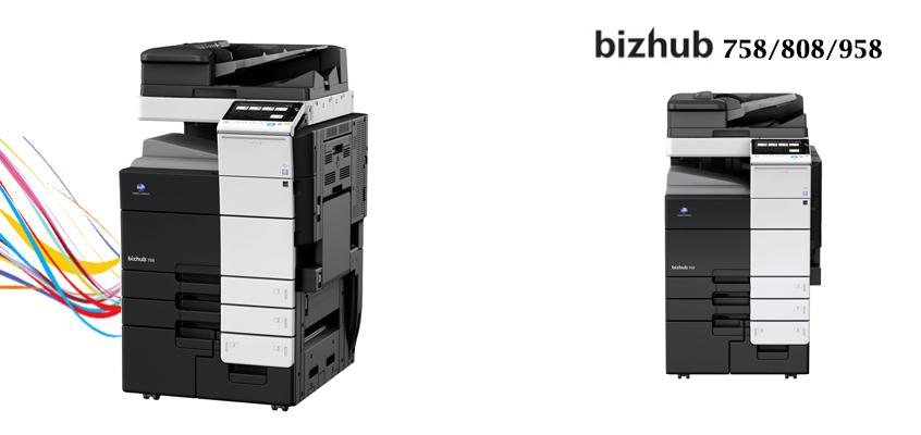bizhub 758/808/958