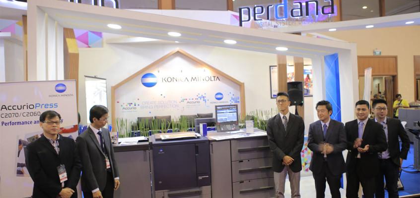 Konferensi Pers & Peluncuran Produk AccurioPress C2060 (FGD Expo 2017)