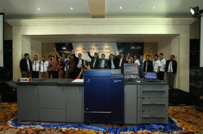Grand Launching Accuriopress C6100/C6085