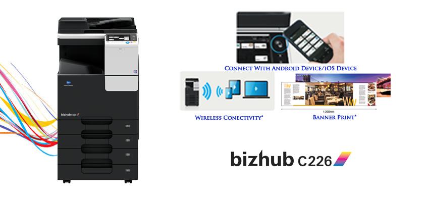 bizhub C226