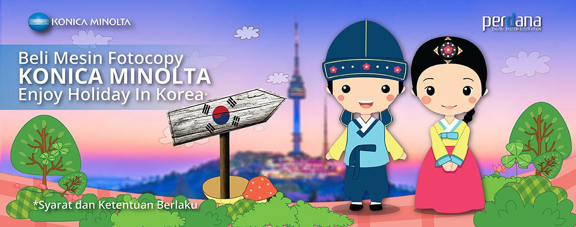 Menangkan Liburan Gratis ke Korea