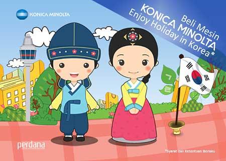 Buy Konica Minolta Machine and Enjoy Holiday in Korea