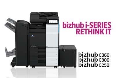 bizhub C360i/C300i/C250i – A3 Multifunction Printers