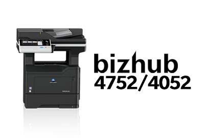 bizhub 4752/4052