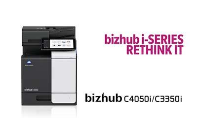 bizhub C4050i/C3350i – A4 Color Multifunction Printers