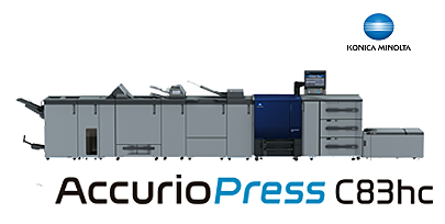 AccurioPress C83hc – High Chroma Digital Press