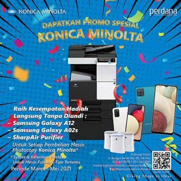 Konica Minolta Special Promo